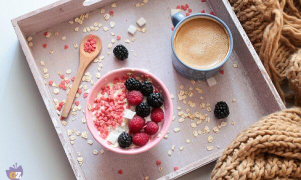 Porridge ai frutti di bosco