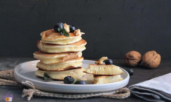 Pancake con farina di riso
