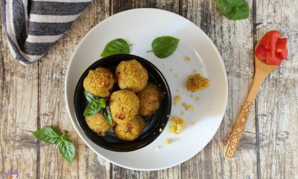 Polpettine di couscous e verdure
