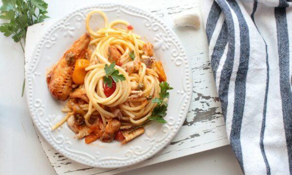 Spaghetti al ragù di gallinella
