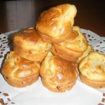 Tortini con gamberetti e porro – Muffins with shrimps and leek