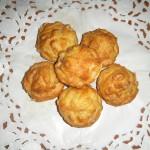 Muffin salati prosciutto e piselli – Peas and ham muffins