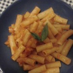 Pasta con i peperoni – Pasta with bell peppers