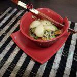 Gnocchi di riso alle verdure – Rice gnocchi with vegetables