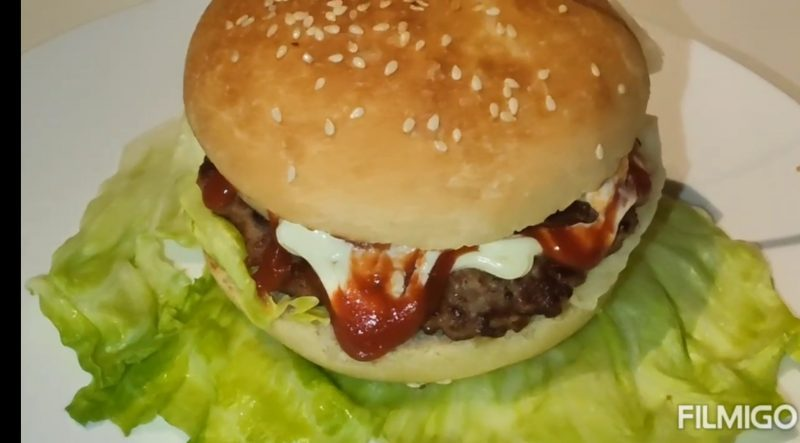 Hamburger gourmet (fatto in casa)