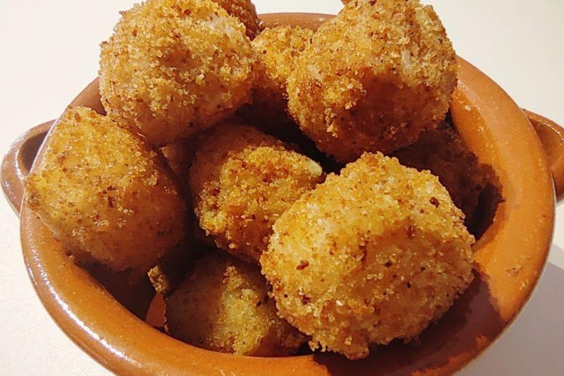 Mozzarelline impanate (senza uovo)