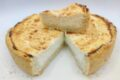 Cheesecake cacio e pepe