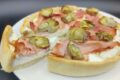 Torta salata carciofi, ricotta e cotto