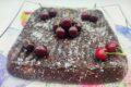 Torta ricotta, cioccolato e ciliege