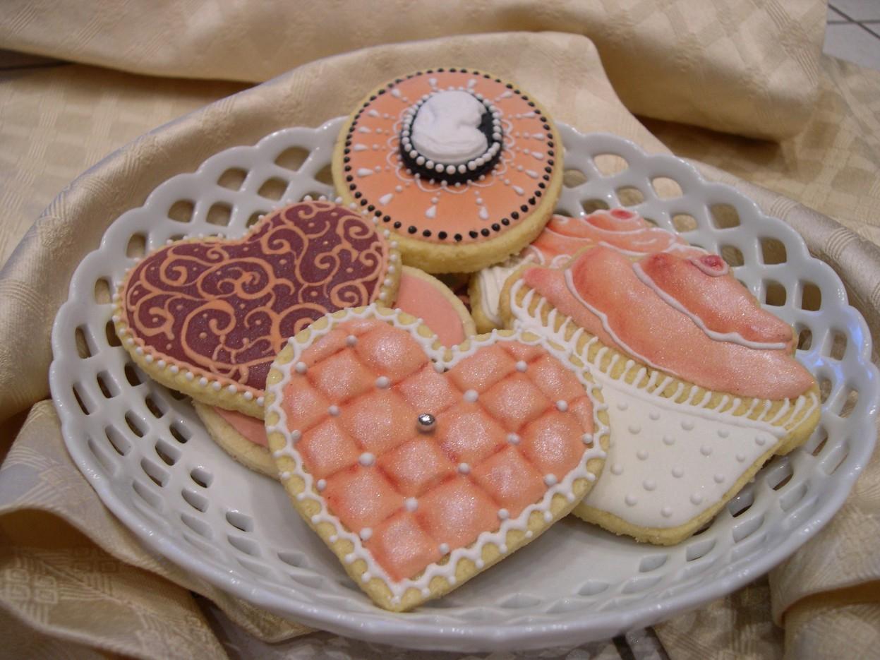 foto decorazioni torte con glassa reale: oltre 20 migliori idee su ... - Decorazioni Con Biscotti