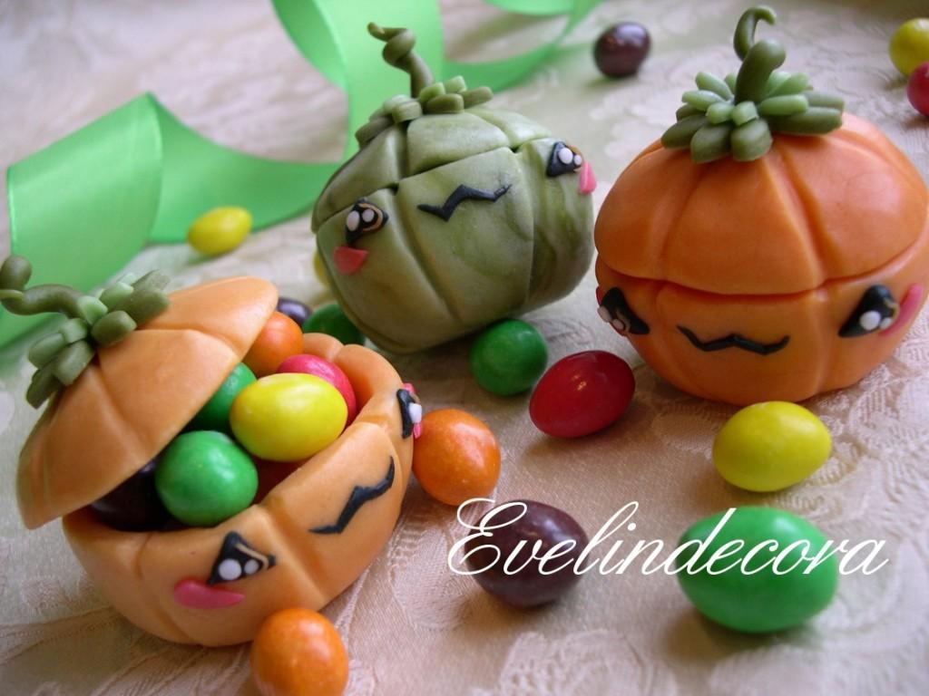 Halloween pumpkins Evelindecora zucche decorate