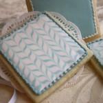 Biscotti decorati marezzati 1