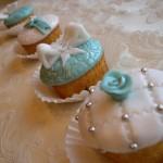 Cupcakes decorati Tiffany style 1