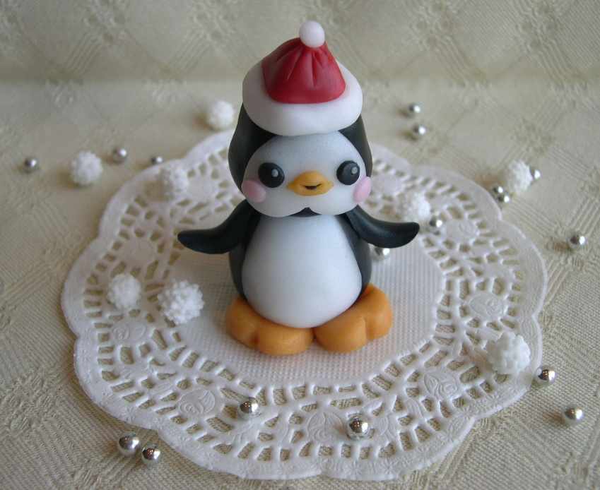 Segnaposto Matrimonio Natalizio : Segnaposto natalizio in pasta di zucchero