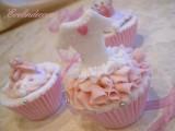 cupcakes decorati con pasta di zucchero Evelindecora