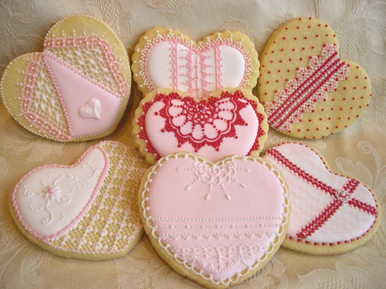 decorare una torta con ghiaccia reale: biscotti ricamati decorati ... - Decorazioni Con Biscotti