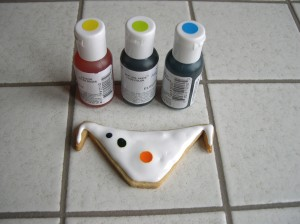 biscotti decorati con ghiaccia reale