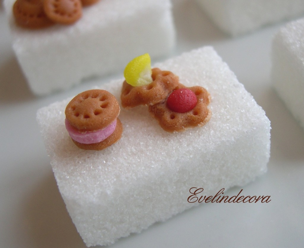 food miniatures zollette decorate