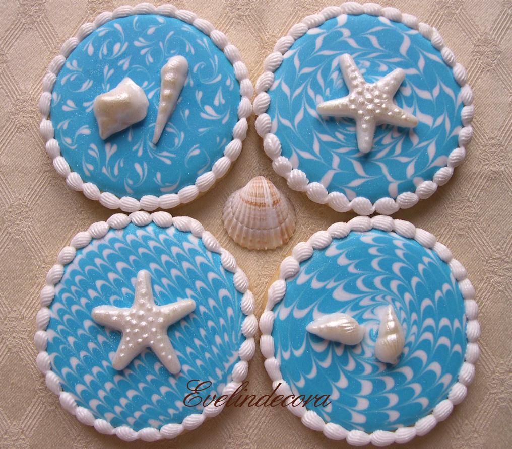Decorazioni ghiaccia reale biscotti decorati for Decorazioni torte tema mare