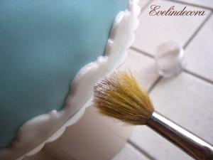 torta dipinta evelindecora