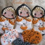 biscotti di halloween Evelindecora