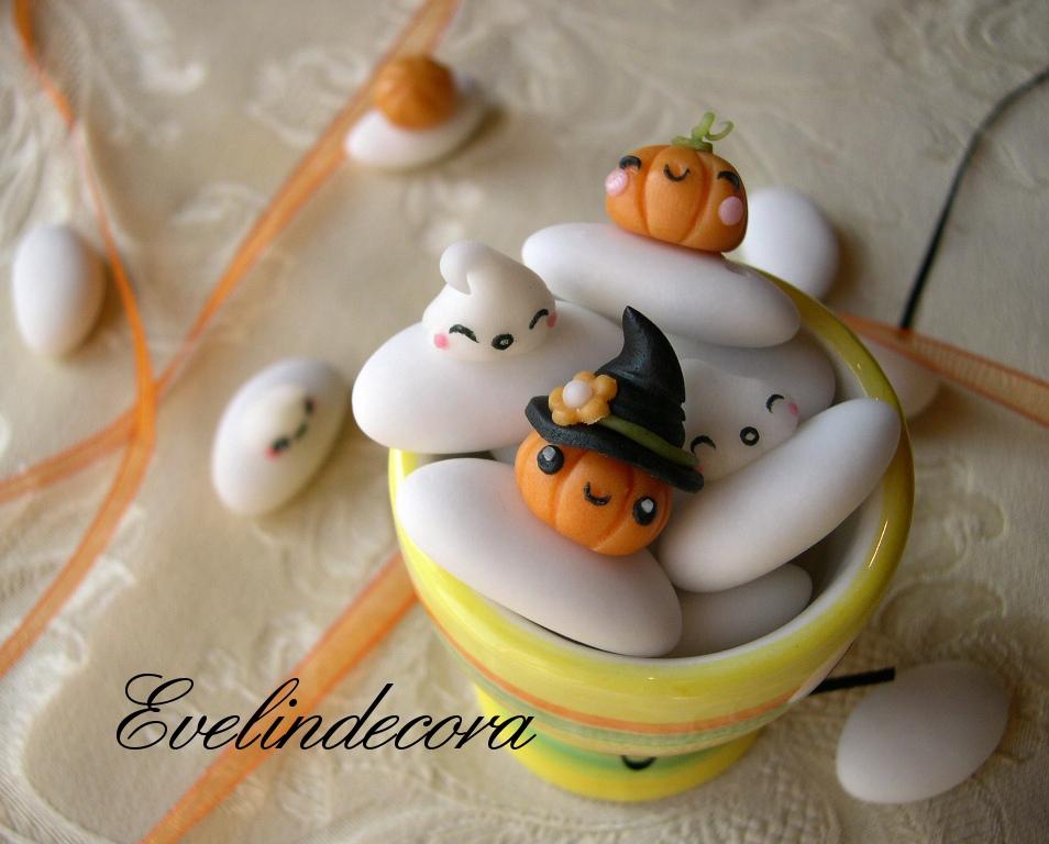 confetti decorati dolci Halloween
