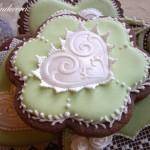 Ghiaccia reale biscotti decorati al cacao Evelindecora