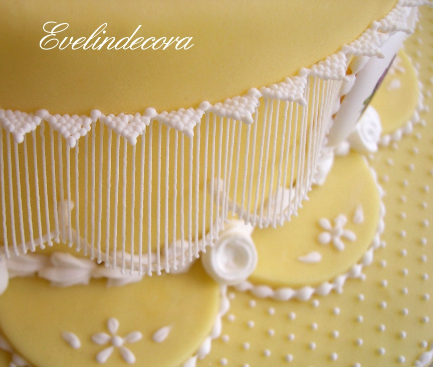 Ghiaccia reale torta di compleanno Evelindecora
