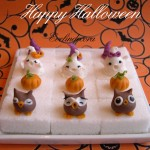 zollette decorate con pasta di zucchero halloween Evelindecora