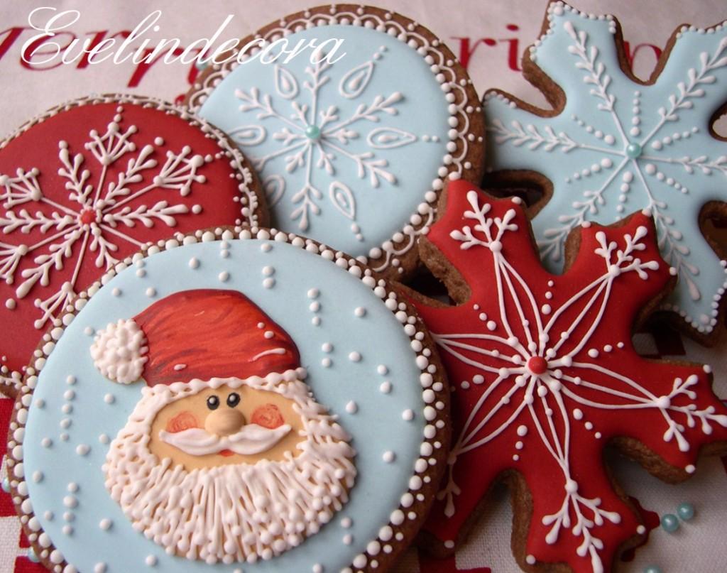 ricetta semplice biscotti natalizi Evelindecora