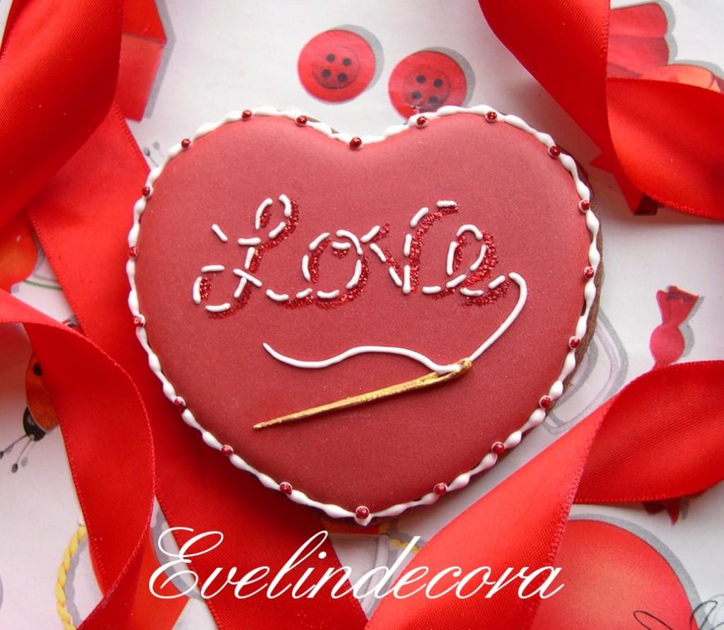 biscotti San Valentino Evelindecora corso ghiaccia reale Milano