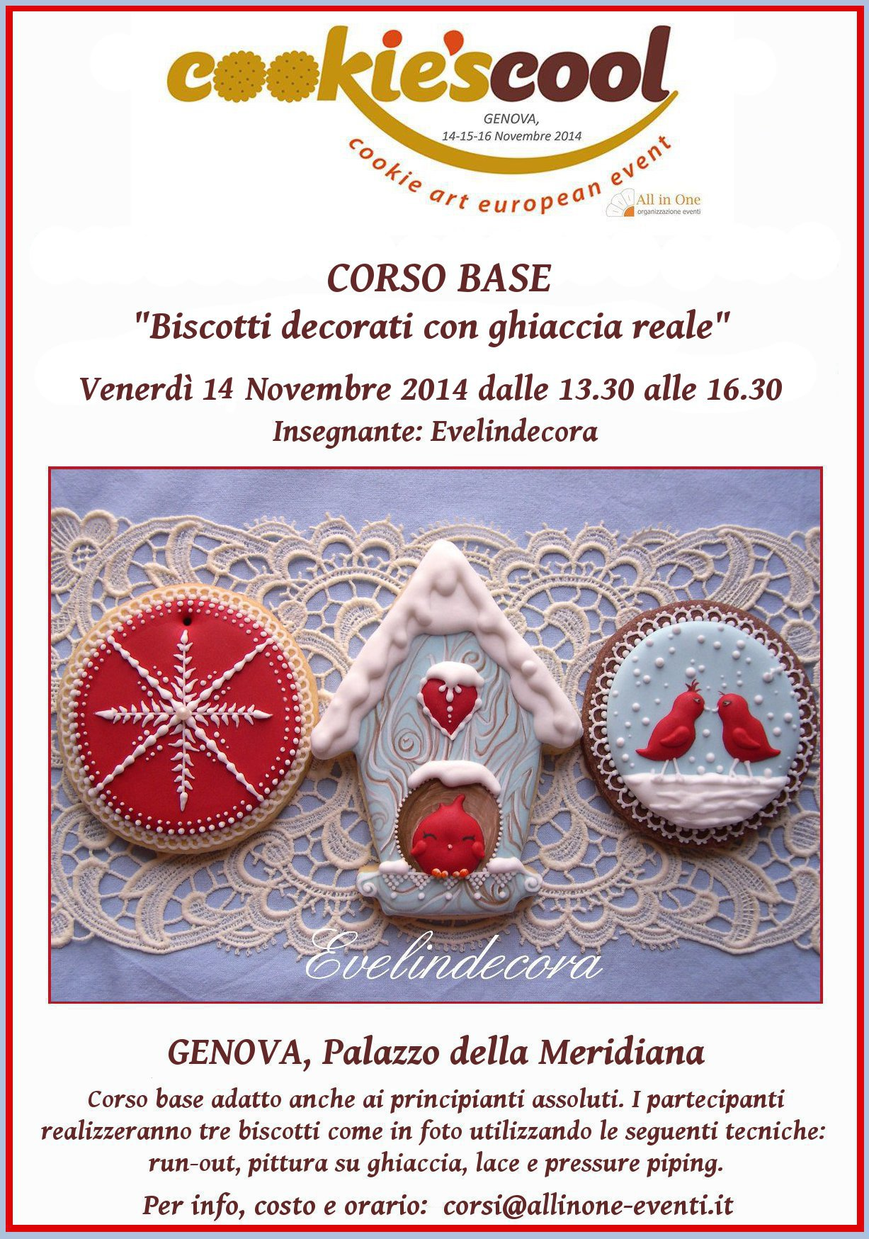 corso ghiaccoa reale cookie's cool evelindecora