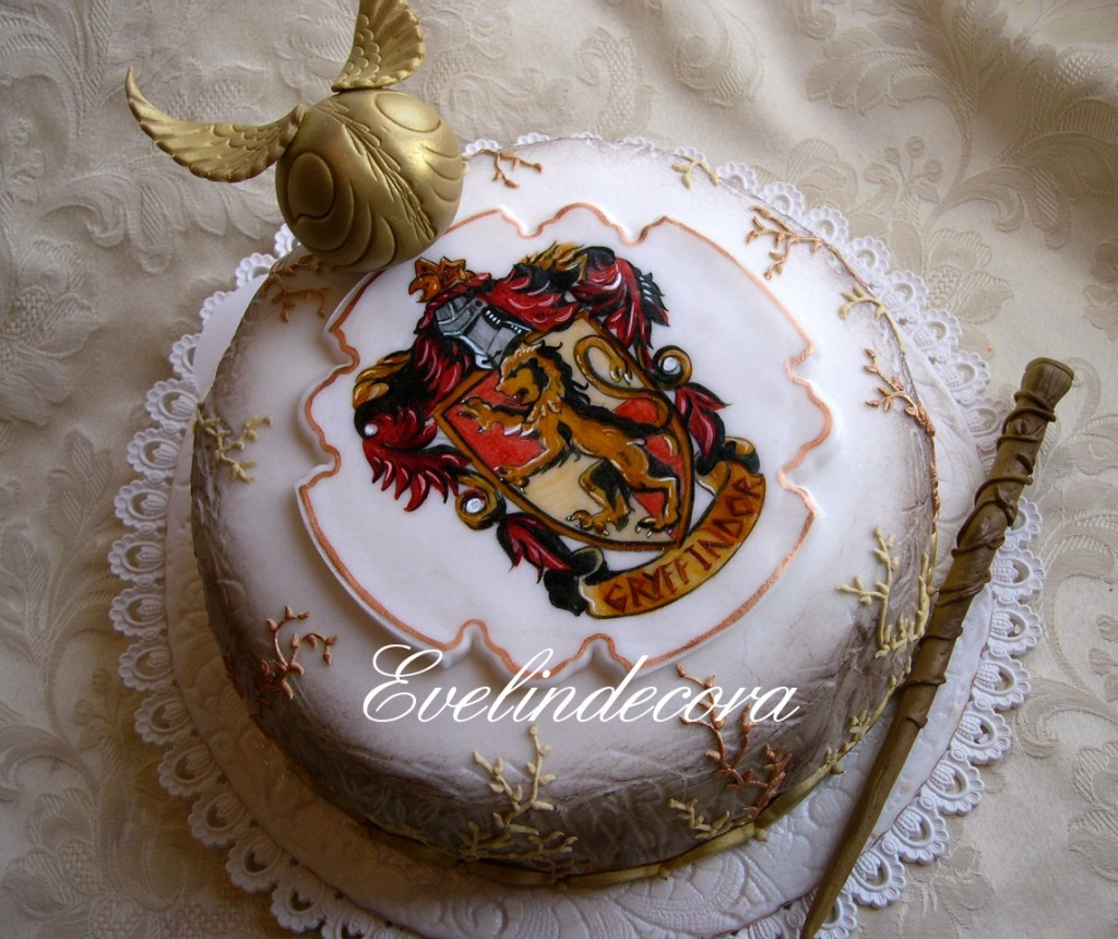 torta harry potter Evelindecora