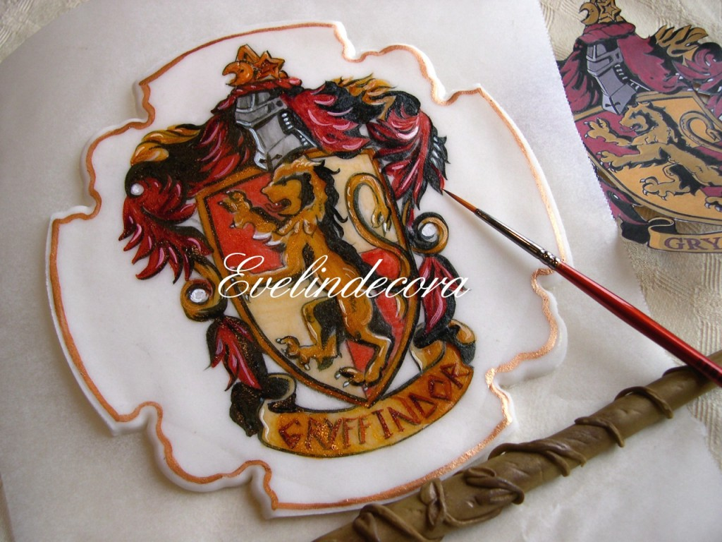 Torta Harry Potter Evelindecora tutorial