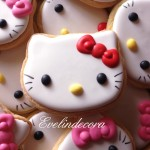 biscotti hello kitty evelindecora