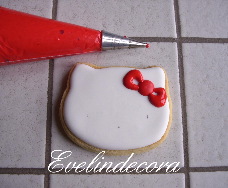 Hello Kitty Decorati Con Ghiaccia Reale Ricette E Tutorial In Cucina #B2191A 1163 960 Ricette Cucina Disegnate