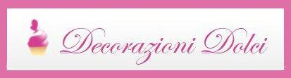 Decorazioni dolci logo