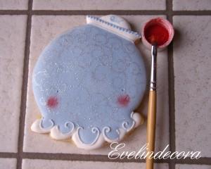 Biscotti miele e cannella ghiaccia reale tutorial Evelindecora
