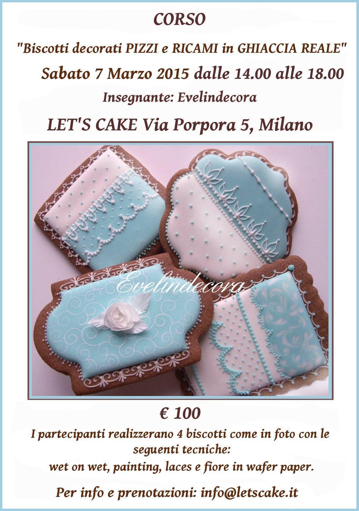corsi ghiaccia reale 2015 - biscotti decorati Evelindecora