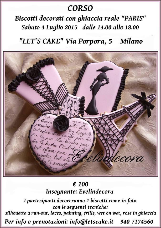 ghiaccia reale biscotti decorati Evelindecora Milano