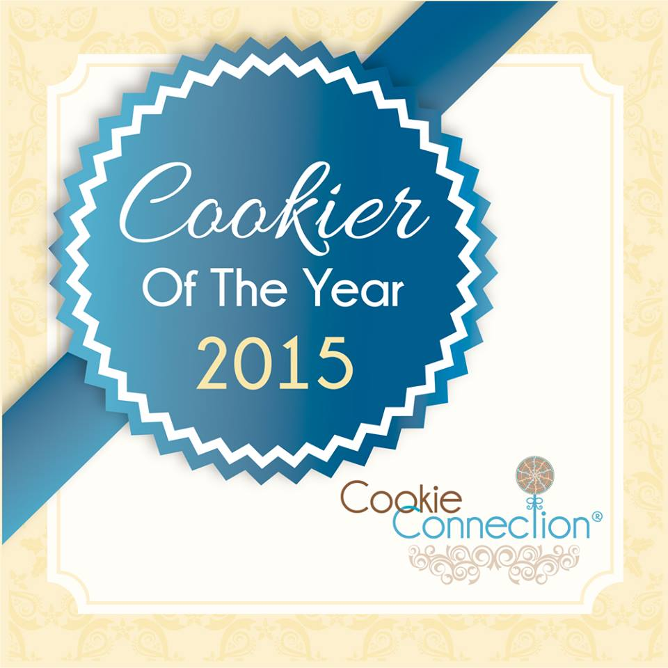 Cookier of the year 2015 Evelindecora Coookie Connection