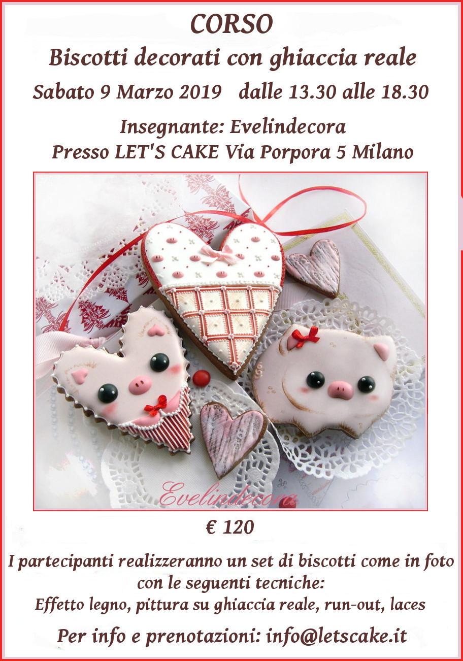 biscotti ghiaccia reale MILANO Evelindecora pittura e decorazione