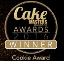 Cake Masters cookie award 2016 Evelindecora
