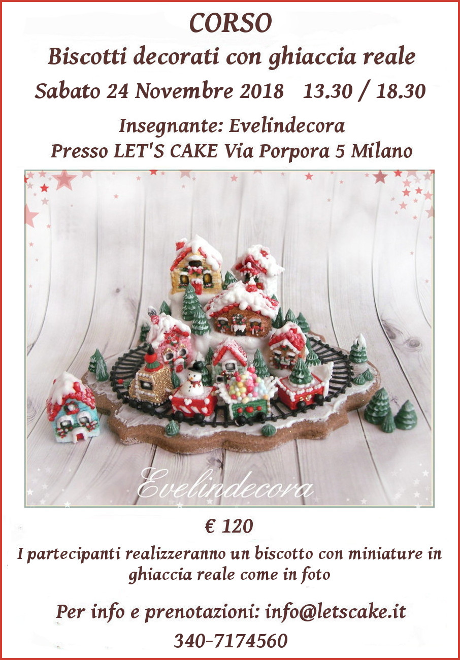 Biscotti decorati natalizi Evelindecora ghiaccia reale
