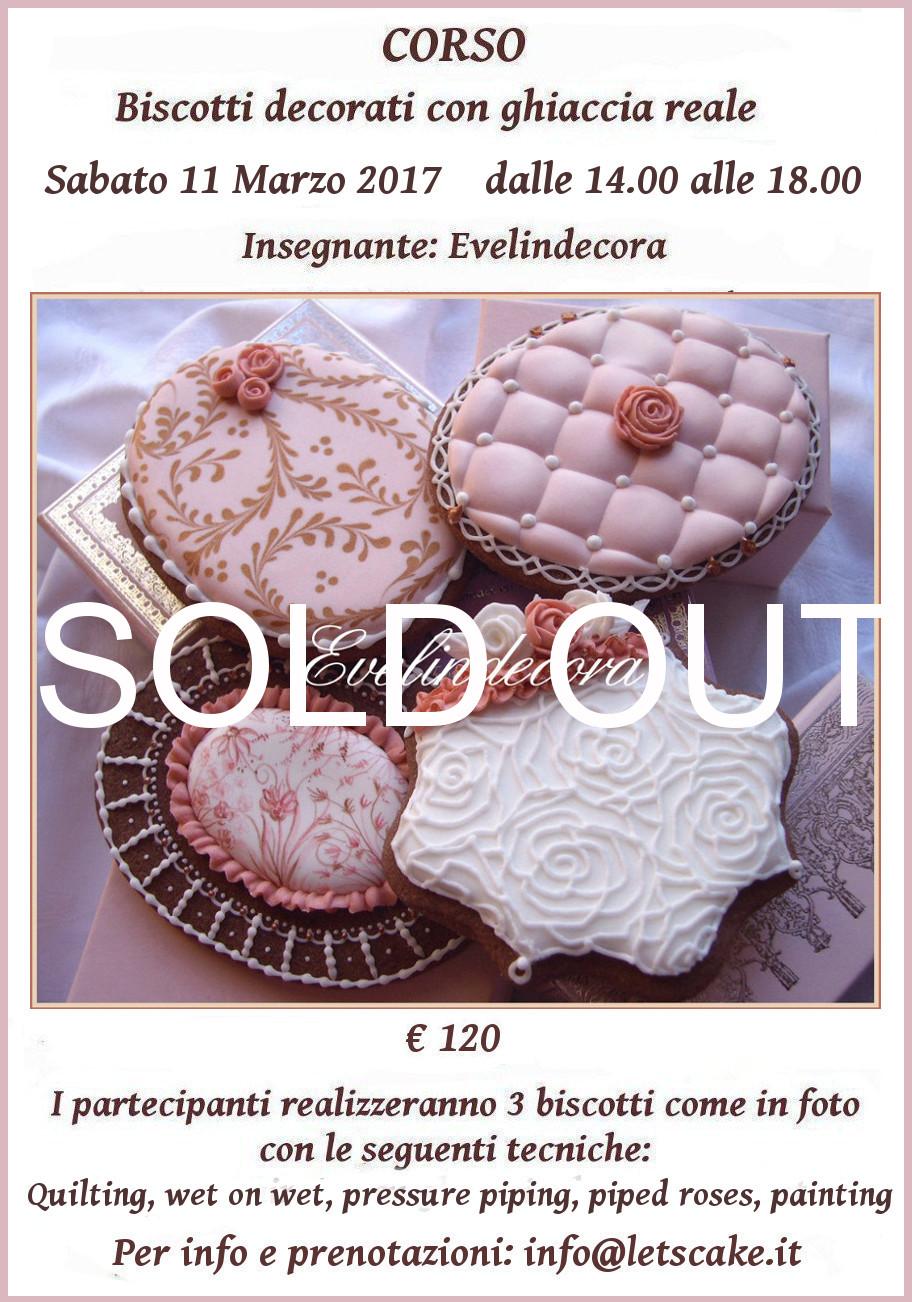 Biscotti decorati con ghiaccia reale EVELINDECORA - corsi ghiaccia reale Milano info@letscake.it