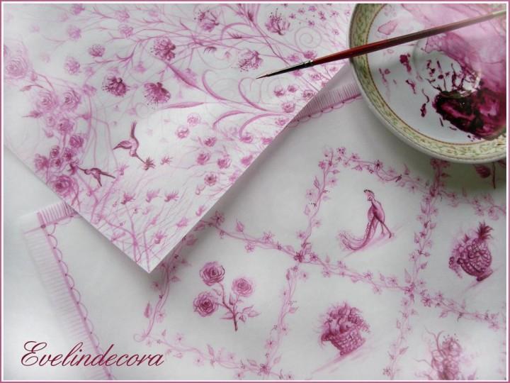 fiori ostia - ostia dipinta - wafer paper