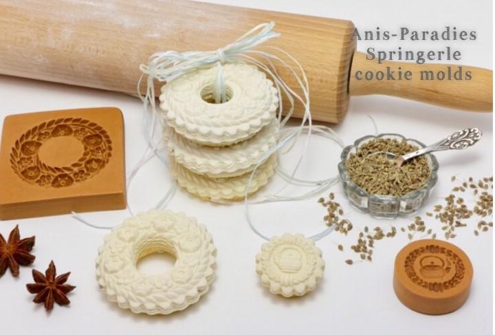 Springerle cookies molds