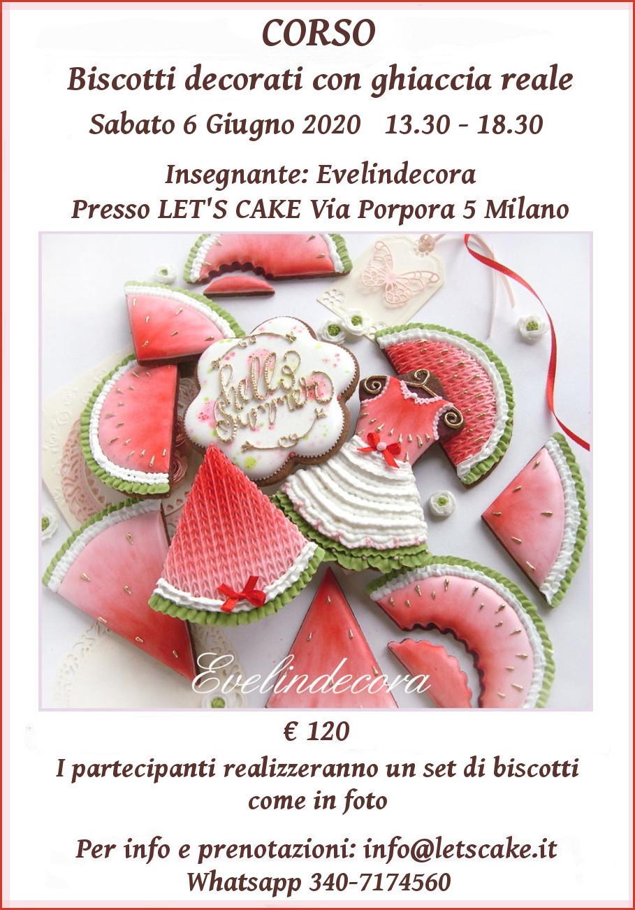 CORSO Evelindecora biscotti decorati