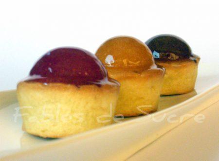Tartellette con gelatine di frutta