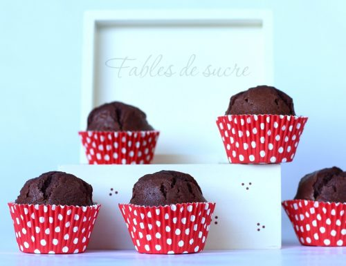 Muffin al mascarpone e cacao